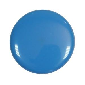 bouton pression bleu