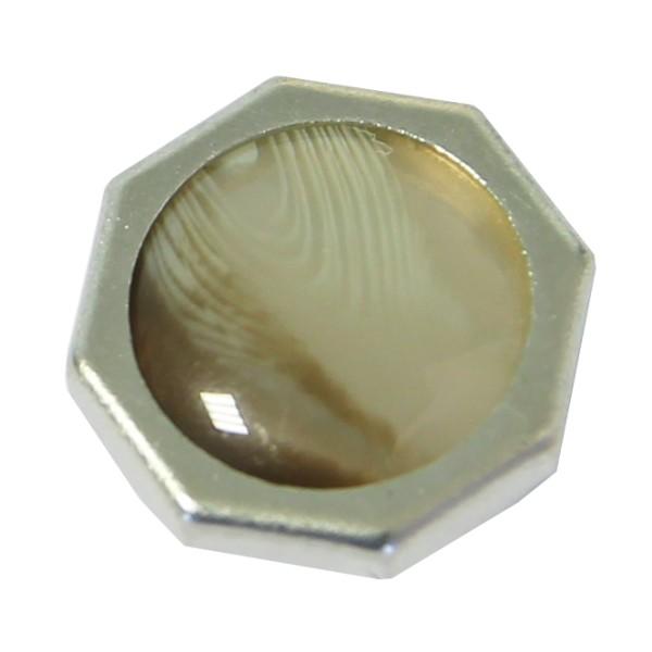 bouton pression hexagonal
