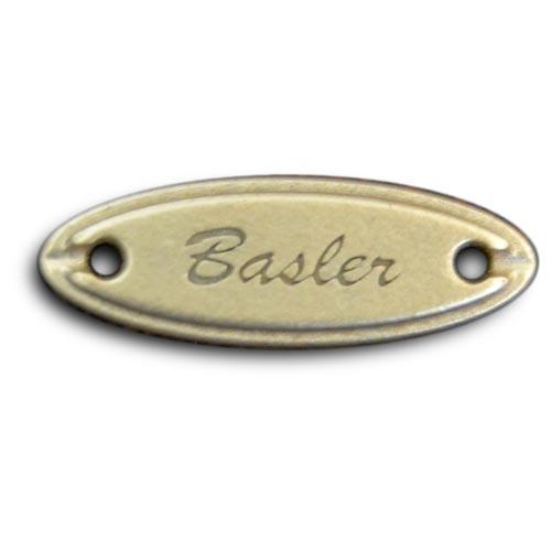 étiquette métal personnalisée