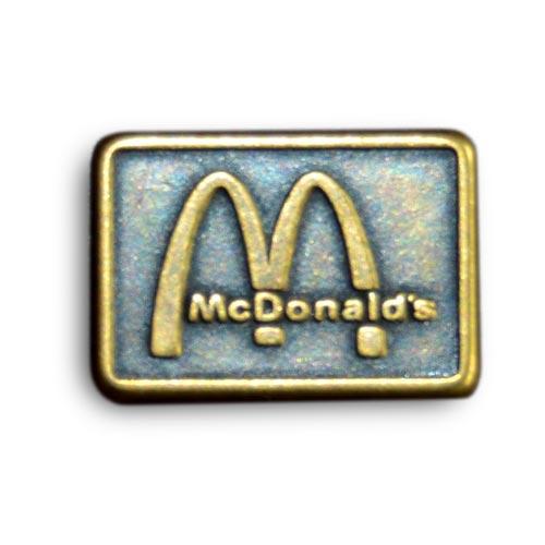 logo plaque métal personnalisé zamac