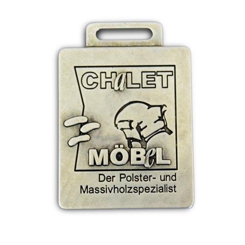 plaque métal personnalisée